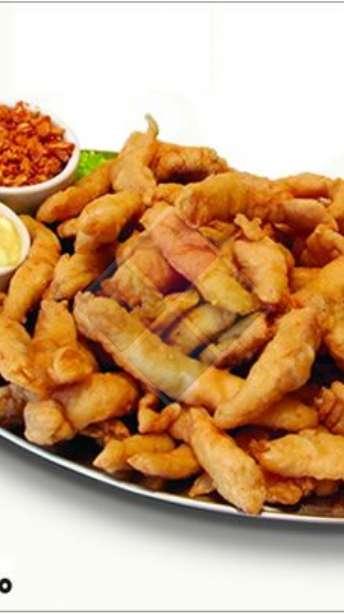 Foto: Porções de peixe aperitivo